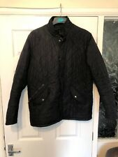 Barbour Quilted Jacket Medium Black