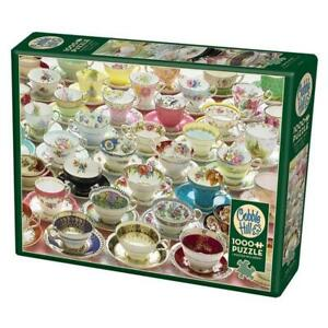Cobble Hill 80084 More Teacups 1000pc Puzzle Brand New