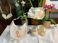 Vintage Made For Cabbage Patch Kids Clothes Doll Cpk Outfit Shorts Shoes BIB LOT
