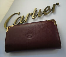 Cartier Key Holder - Burgundy Leather - 6 Key - Boxed