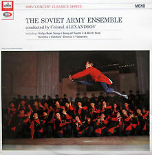 XLP 30062 The Soviet Army Ensemble Alexandrov HMV Mono NM/EX