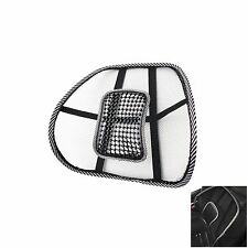 New Ventilation Acupressure Waist Car Sit Cushion Air Back Sit Cover Chair Cover