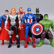 Superhelden Figuren Marvel Figure Klein Iron Man Thor Hulk Spielzeuge für Kinder
