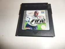 Nintendo  Game Boy  Color  FIFA 2000