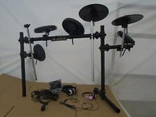 ALESIS DM 6 KIT ELECTRONIC DRUM PARTIAL SET -WITH 2 HEAD SETS ((