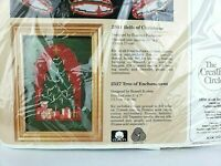 """The Creative Circle """"Tree of Enchantment"""" Picture Kit #2527 Unopened Christmas"""