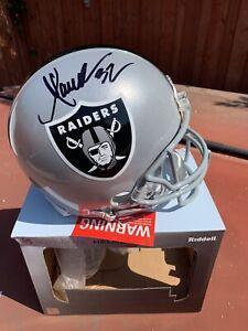 Marcus Allen Signed Raiders Full Size Authentic Autographed Helmet Beckett COA