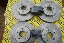Jaguar X-Type Saloon 01-05, Estate 04-05, Front And Rear Brake Discs And Pads
