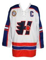 Any Name Number Size Halifax Highlanders Custom Hockey Jersey White Ogilvey