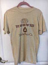 Vtg Touche Ross & Co Accountancy Accountants Deloitte Try Us For Size T Shirt S