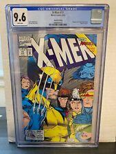 X-MEN #11 -- JIM LEE! EXTREMELY RARE 2ND PRINT PRESSMAN VARIANT! CGC 9.6! 1992!