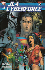 JLA CYBERFORCE...NM-...2005...Joe Kelly, Doug Mahnke,Norm Rapmund...HTF Bargain!