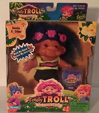 """New Nib 2001 Playmates Totally Trolls Series 2 """" Glenda Goodheart"""" w/Passport"""