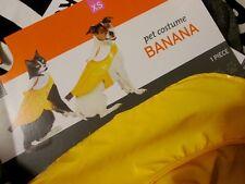 Pet BANANA COSTUME S Fruit SMALL NEW DOG Cat NWT FUN