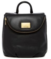 $500 NWT Marc Jacobs Classic Leather Women's Backpack Bag BLACK
