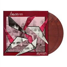 Anacrusis Reason Burgundy Red marbled LP Vinyl Record new