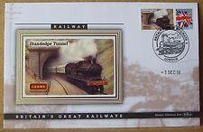 2008 Ltd Ed Benham Error Cover - L&NWR  Standedge Tunnel