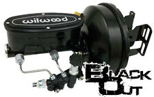 1963-66 CHEVY & GMC C10 TRUCK POWER BRAKE BOOSTER - WILWOOD BLACK OUT SERIES