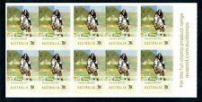 2014 Australia Equestrian Events Showjumping Stamp Sheet. Mnh