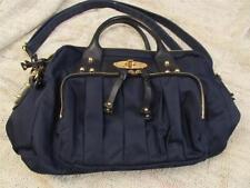 Boulevard Midnight Blue Nylon/ Patent Leather Purse Handbag