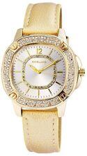 Damenuhr Silber Gold Analog Metall Leder Strass Armbanduhr D-60463615180650