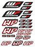 WP Power Suspension Shock Fork Sponsor Decals KTM SX Motorcycle Stickers /43
