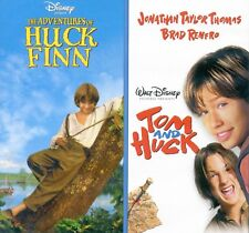 2 Disney PG movies: Adventures of Huck Finn, Tom and Huck, new DVD, Elijah Wood