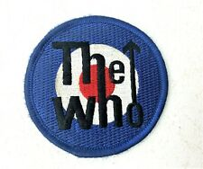 Vintage 99' The Who Rock Band Embroidered Patch - Taget with blue white red 3""