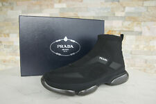 Prada 11  45 Cloudbust Slip-On Slipper Sneakers Schuhe schwarz NEU ehemUVP 670 €