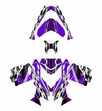 Ski Doo REV XS 2013 2014 2015 graphics sled custom wrap deco kit #2300 Purple