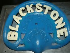 3RD BLACKSTONE STAMFORD VINTAGE   CAST IRON TRACTOR IMPLEMENT SEAT COLLECTIBLES