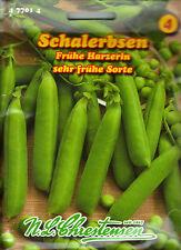 Schalerbsen Frühe Harzerin Erbsen Gemüse Samen Saatgut Sämereien Aussaat Seeds