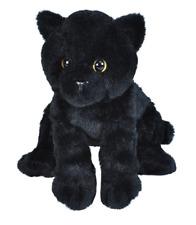 NWT Wild Republic Stuffed Animal Plush Soft Cute Black Cat, Standing