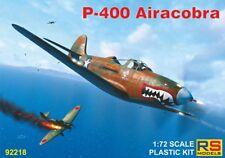 RS Models 1/72 Modèle Kit 92218 Bell P-400 Airacobra