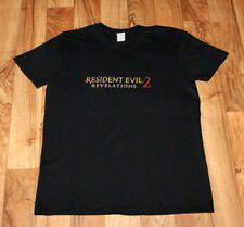 Resident Evil Revelations 2 Rare Promo T-Shirt PS3 PS4 Xbox One 360 Zombie
