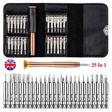 25 en 1 Mini conjunto de herramientas destornillador de precisión Hex Torx Estrella Fix Kit de reparación de bits