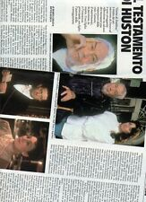 SP32 Clipping-Ritaglio 1987 Il testamento di John Huston