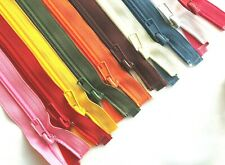 """Nylon Zip 13 Sizes & 40 Colours No.5 Zipper From 13.8'' to 86.6"""" LISTING 1/3"""