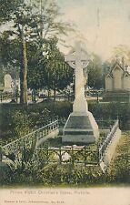POSTCARD  MILITARY  SOUTH AFRICA  Pretoria Prince   Victor Christian's  Grave