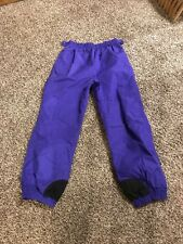 Ladies Womens Purple Columbia Snow Pants size large has adjustable waist. Wow!
