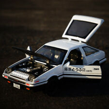 Initial D Toyota TRUENO AE86 1:28 Diecast Model Car Toy Sound&Light Xmas Gift