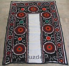 UZBEK SILK HAND EMBROIDERED SUZANI JOYPYSH # 8485