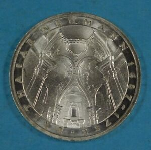 1978 GERMANY 5 MARK COIN - SILVER - 225th Anniver Death of Balthasar Neumann