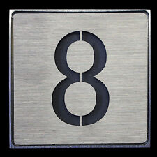 LED Haustürbeleuchtung 1W Hausnummer Nummernschild Haustürnummer Nummer 8