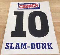 Nba All Star Dunk Contest 1996 Score Card Brent Barry San Antonio
