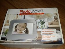 Photoco Photo Share 7D Digital Photo Frame 7 Inch LCD Screen New Open Box