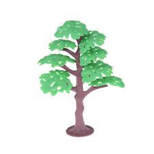 Vivid 13cm Green Tree Model Railway Park Pine Layout Scenery Dollhouse Decor NTP