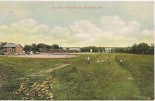 City Island Play Ground Harrisburg PA Postcard