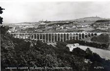 Lockwood Viaduct Huddersfield unused RP old pc by Valentines  Good cond