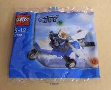 Lego City 30018 Police Plane Polizei Flugzeug mit Figur Polizist Tütchen Neu OVP